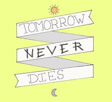 YELLOW tomorrow never dies by o-my-morgan