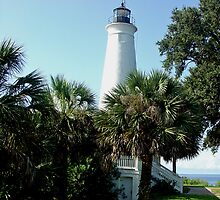 Tallahassee Lighthouse by Raymond Desjardin