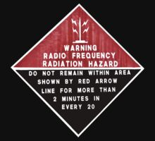 RF Radiation Hazard by Martin Pot