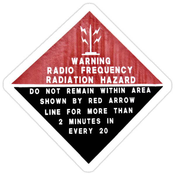 RF Radiation Hazard by Martin Pot