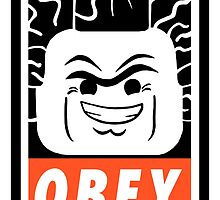 President Business: OBEY (Lego Movie) by Chaddersatz