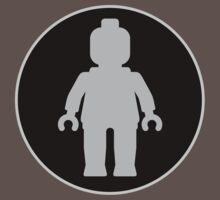 MINIFIG GREY Kids Clothes
