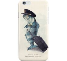 The Pilot iPhone Case/Skin