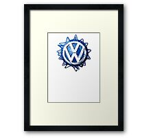 VW look-a-like logo  Framed Print