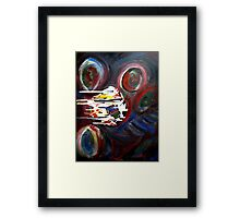 Comet 2012 Dec 21 Framed Print