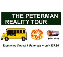 The Real Peterman Reality Bus Tour Shirt Seinfeld by movieshirtguy
