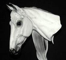 The Horse Head Bust by Bill Lighterness