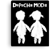 Depeche Mode : Angels Boy and Girl - 2 - White Canvas Print