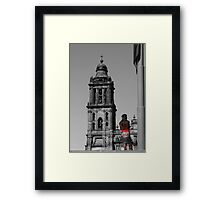 What's In Your Future? Framed Print