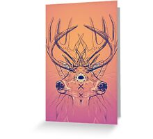 Dutch Deer Greeting Card