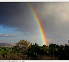 Southwest Rainbow by LauraElizabeth