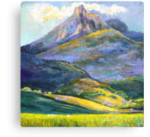 Mt.Warning in Springtime Canvas Print