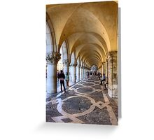 Doge's Palace Colannade Greeting Card