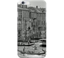 Messing about in boats - B&W iPhone Case/Skin