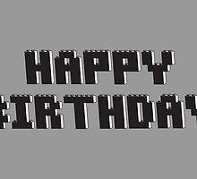 Happy Birthday by Customize My Minifig