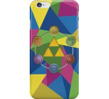 Tri-Force polygon iPhone Case/Skin