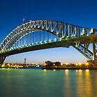 Sydney Harbour Bridge - Australia by Steve Grunberger