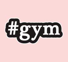 Gym - Hashtag - Black & White Kids Clothes