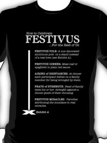 How to Celebrate Festivus T-Shirt