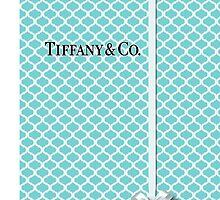 Tiffany & Co. Logo with Quatrefoil Box &  Ribbon by Everett Day