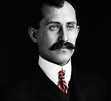 Orville Wright by restorephotos