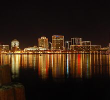 Norfolk, VA - Waterside  by Andreas Mueller