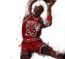 Michael Jordan Abstract Sketch by RhinoEdits