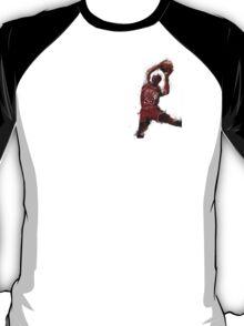 Michael Jordan Abstract Sketch T-Shirt