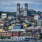 Colourful St. John's, Newfoundland by Gerda Grice