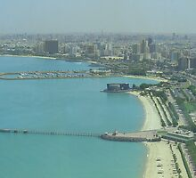 Kuwait City - Birdeye view by NicoleBPhotos