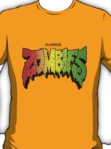 FLATBUSH ZOMBIES RASTA COLOR T-Shirt