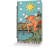 The (North) Star Tarot Card Greeting Card