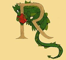 "Oscar and the Roses ""R - Tail"" (Illustrated Alphabet ) by Donna Huntriss"