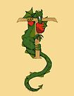 "Oscar and the Roses ""T - Tail"" (Illustrated Alphabet) by Donna Huntriss"