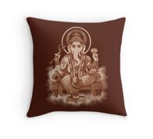 Ganesh the Remover of all obstacles Throw Pillow