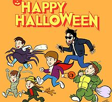A Monster Squad Halloween by ibtrav