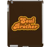 Soul Brother - Retro 70s - Logo iPad Case/Skin
