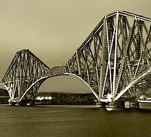 Forth Bridge by Chris Clark