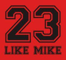 #23 - Like Mike (Black) by spraya