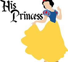 His Princess Snow White Couple's Shirt For Her by rockinbass85