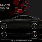 Mercedes C65 (my own AMG style) by DAP1987