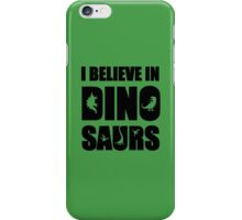 I Believe In Dinosaurs (little dinosaurs) iPhone Case/Skin