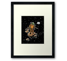 Astrozombie Framed Print