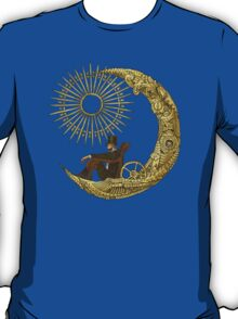 Moon Travel (Blue) T-Shirt