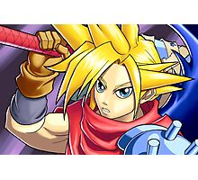 Final Fantasy - Kingdom Hearts - Cloud Strife Photographic Print