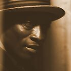 #248  Black Man In Sepia    by MyInnereyeMike