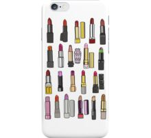 Your favorite lipstick collection iPhone Case/Skin