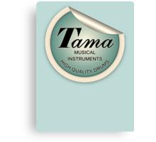 Tama  Sticker Canvas Print