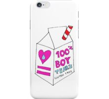 100% BOY TEARS iPhone Case/Skin