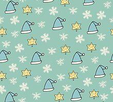 Christmas pattern by ulyanaandreeva